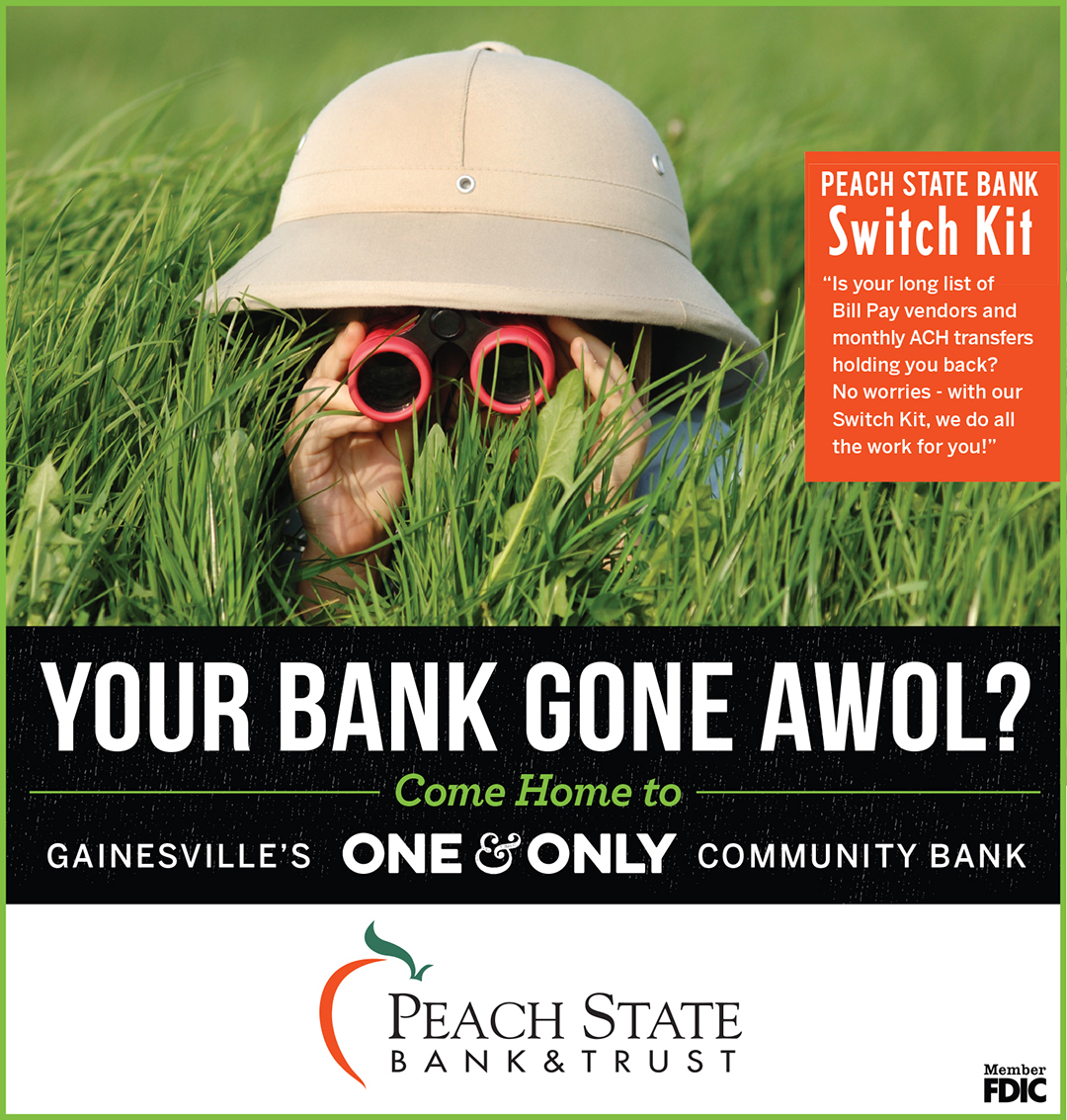 Peach State Bank - Advertising